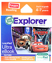 Leap Frog Explorer Learning Game - Disney Pixar Cars Ultra eBook