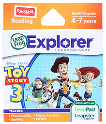 Leap Frog Explorer Learning Game - Disney Pixar Toy Story 3