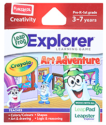 Leap Frog Explorer Learning Game - Crayola Art Adventure