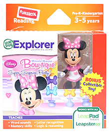 Leap Frog Explorer Learning Game - Minnie Mouse Bow-tique