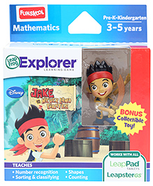 Leap Frog Explorer Learning Game - Jake And The Neverland Pirates