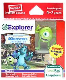 Leap Frog Explorer Learning Game - Disney Pixars Monsters University