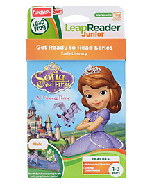 Leap Frog Junior Reader - Disney Sofia The First