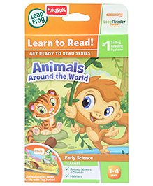 Leap Frog Junior Interactive Book - Animal Around The World