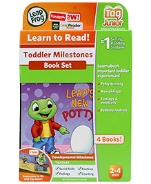 Leap Frog Learn To Read Toddler Milestones - Set of 4