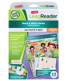 Leap Frog Write It Engineering a Win Activity Set