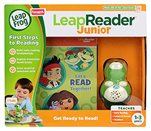 Leap Frog Leap Reader Junior Get Ready for Preschool Bundle with Scout