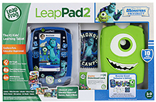 Leap Frog LeapPad 2 - Disney Pixars Monsters University - 3 To 9 Years