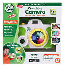 Leap Frog Creativity Camera - Green - 3 To 6 Years