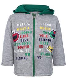 Cucumber Hooded Sweatshirt Full Sleeves
