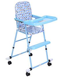 Infanto Multipurpose Baby High Chair Multi Print - Blue