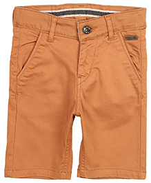 Gini And Jony Bermuda Shorts - Solid Color
