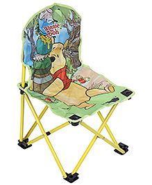 Winnie The Pooh Folding Chair Small - Yellow