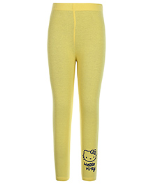 Hello Kitty Solid Color Legging - Yellow