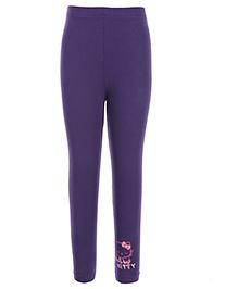Hello Kitty Solid Color Legging - Purple
