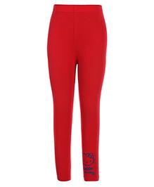 Hello Kitty Plain Legging - Red