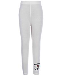 Hello Kitty Plain Legging - White