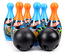 Funfactory Hot Wheels Bowling Set - 6 Bottles