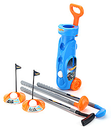 Funfactory Hot Wheels Golf Set Trolley - Blue
