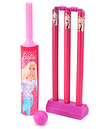 Funfactory Barbie Plastic Cricket Set - Small