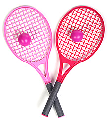 Funfactory Barbie Plastic Tennis Set - Big