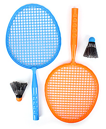 Funfactory Hot Wheels Badminton Set - Blue and Orange
