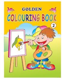 Indian Book Depot map house Golden Coloring Book 2 - English
