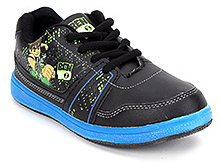 Ben 10 Sports Shoes Lace Up - Blue And Black