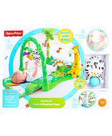Fisher Price 3 In 1 Musical Play Gym -  Rain Forest Theme