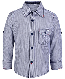 Beebay Full Sleeves Shirt With Topstitch - Stripes