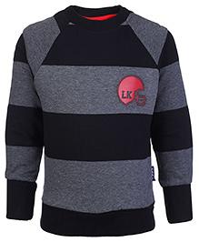 Little Kangaroos Full Sleeve Sweatshirt - Stripes