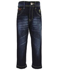 Ruff Designer Denim Jeans - Embroidery
