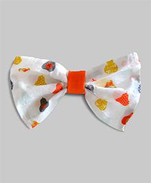 Perfect Pears Bowties - Orange
