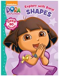 Parragon Book Dora The Explorer Shapes - English