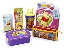Winnie The Pooh School Kit - Pack Of 6