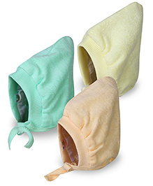 Tinycare Bonnet Style Cap Small - Set Of 3