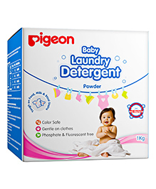 Pigeon Baby Laundry Detergent Powder - 1 Kg - Kills 99.9% Bacteria