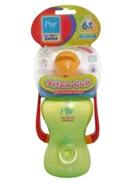 Pur Straw Cup with Swinging Handle - 250 ml