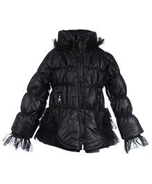Little Kangaroos Winter Jacket With Net Detailing - 2 Years