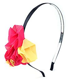 Stol'n Kids Hair Band Floral Applique Multicolor