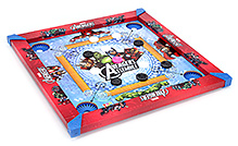 Marvel Carrom Board - Avengers Theme - 17 X 17 Inches