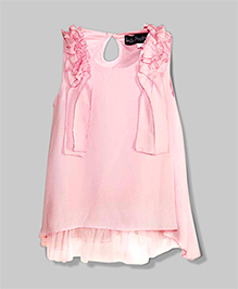 Cotton Candy Fuzzy Frill Dress