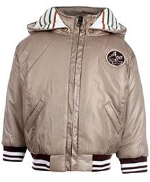 Little Kangaroos Full Sleeve Hooded Jacket