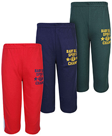 Zero Trackpants Multicolor - Set Of 3