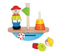 Hape Balance Boat Wooden Toy