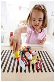 Hape Shish-kebab Basics Wooden Toy