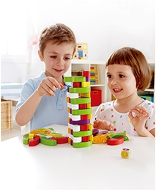 Hape Stacking Veggie Game Wooden Toy