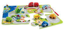 Hape Build A City Set Wooden Toy