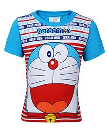 Doraemon Half Sleeves T-Shirt - Print