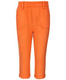ToffyHouse Trouser Elasticated Waist - Orange